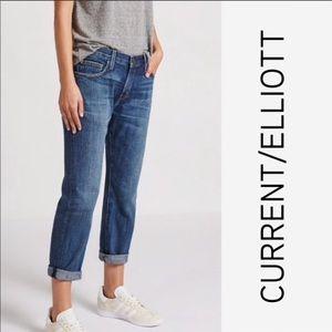 CURRENT/ELLIOTT 'The Boyfriend' Jeans Size 29